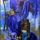 Павлова Н.В. Синий натюрморт. Фоторепродукция Татьяны Шепелевой