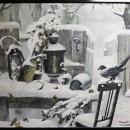 Павлова Н.В. Старый дом. Зима. Фоторепродукция Татьяны Шепелевой
